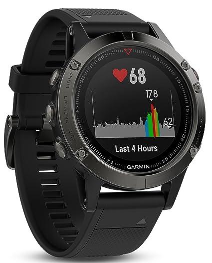 Garmin Fenix 5 de Multi Sport de GPS de Reloj con Exterior de navegación y muñeca