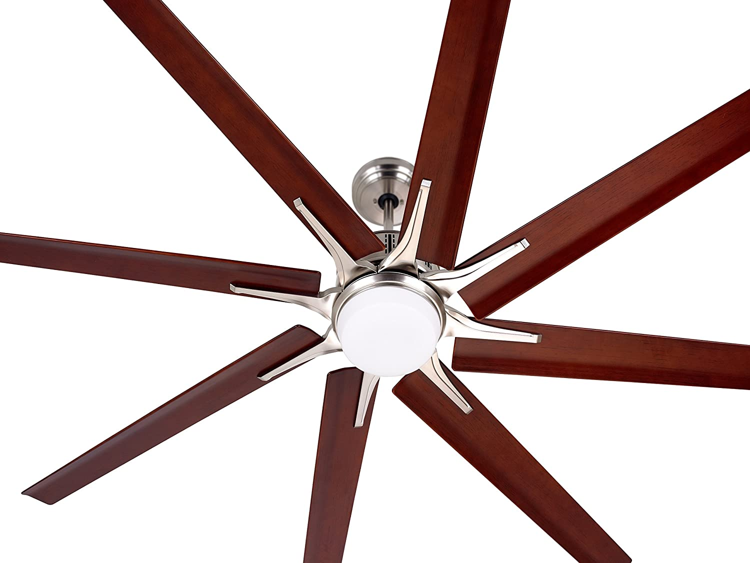 Emerson aira eco 72 inch oil rubbed bronze modern ceiling fan free - Emerson Cf985bs Damp Rated Aira Eco Modern Ceiling Fan With Light Wall Control And 72 Blades Brushed Steel Finish Amazon Com