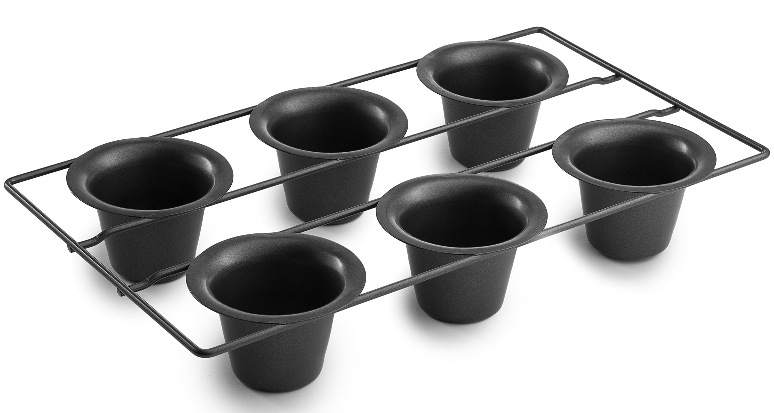 Bellemain 6 Cup Nonstick Popover Pan by Epica