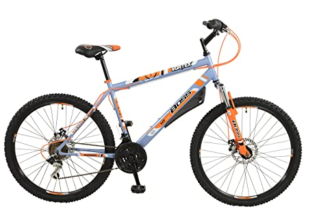 Boss Hombres de Vortex para Bicicleta, Gris/Naranja, 26: Amazon.es ...