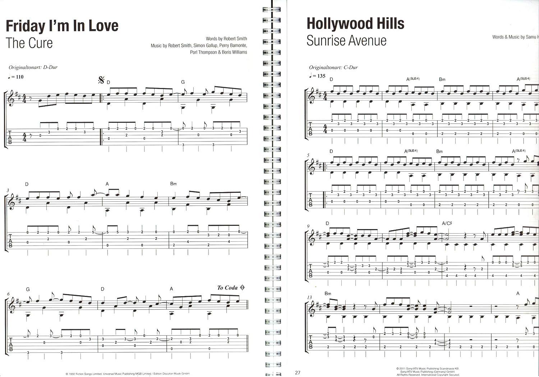 Libro de guitarra XXL - 50 Charthits and Klassiker - Songbook para ...