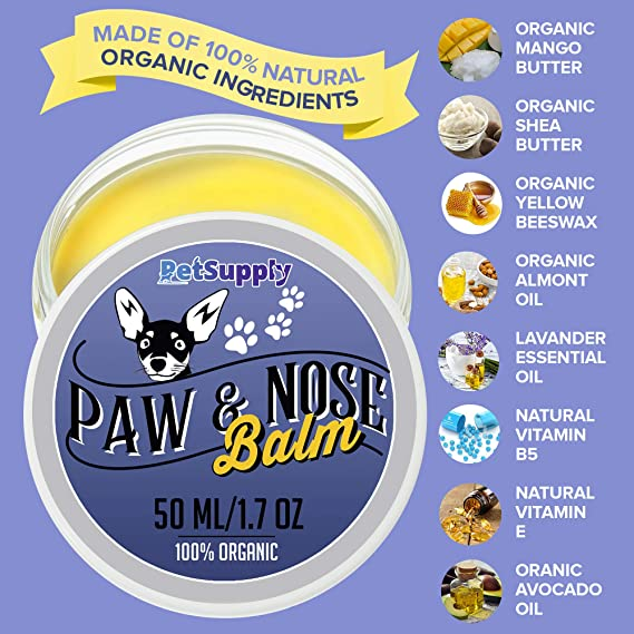 Amazon.com: Bálsamo para huellas de perro – 100% natural ...