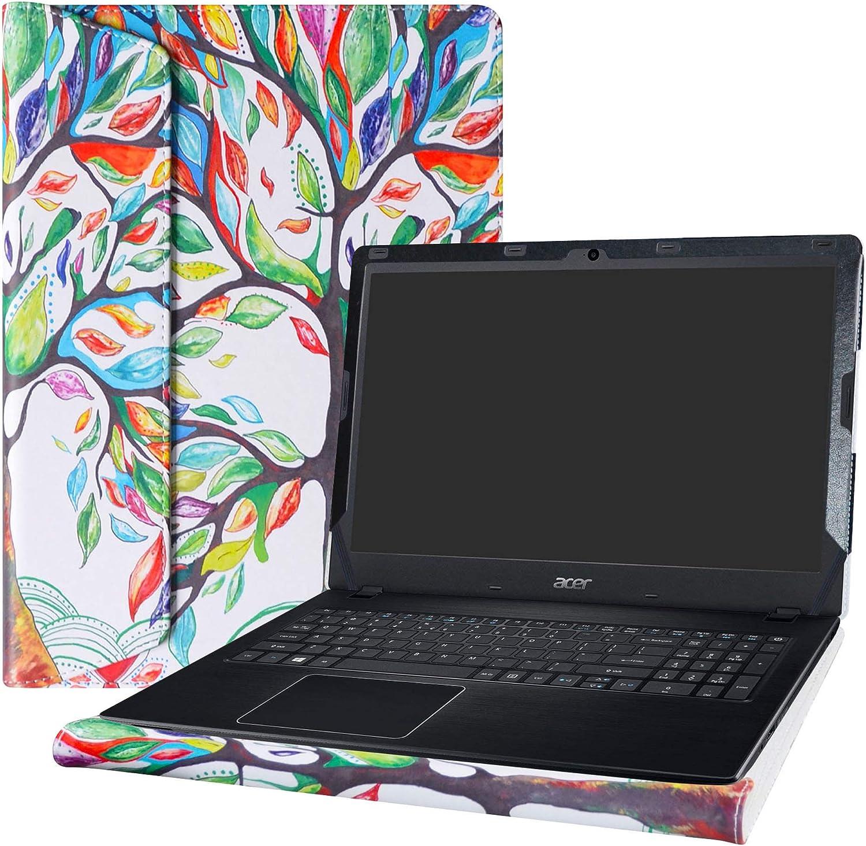 "Alapmk Protective Case Cover for 15.6"" Acer Aspire E5 E5-575 E5-575G E5-575T E5-576 E5-576G E5-553 E5-553G/Aspire F 15 F5-573G F5-573/Aspire ES 15 ES1-572 ES1-533 Serie Laptop,Love Tree"