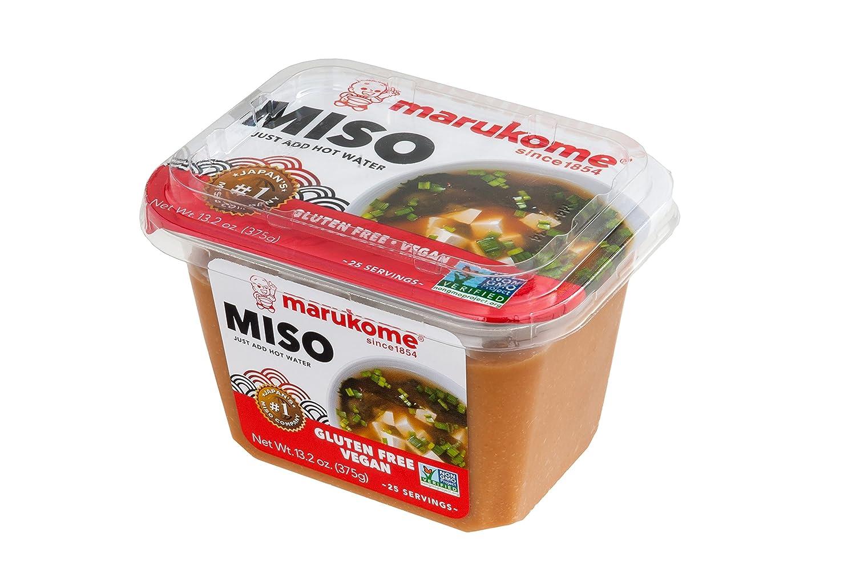 Marukome Miso Gluten - Vegán libre de gluten, 34,3 ml ...