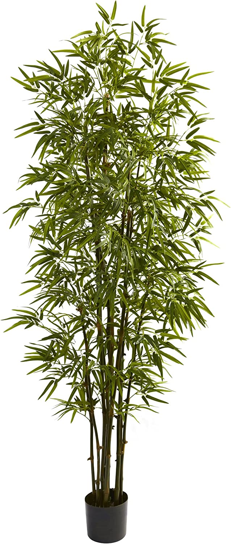 Nearly Natural 5421 Bamboo Tree, 7-Feet, Green,84