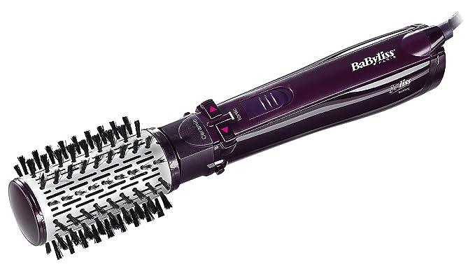 BaByliss Beliss Brushing 1000 - Cepillo rotativo de 1000 W, color morado