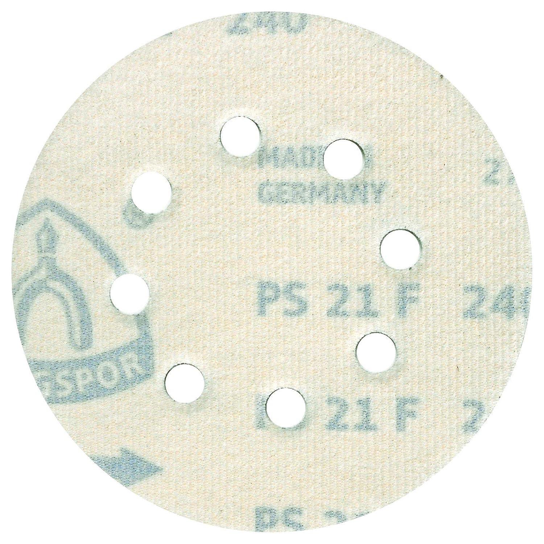/Ø 125 mm K/örnung: P100 8 Loch GLS 5 Klingspor PL 28 CK Schleifscheibe 270687   50 St/ück