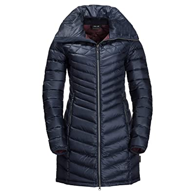 Jack Wolfskin Women's Richmond Down Puffer Long Jacket: Clothing