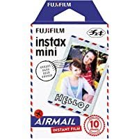 Fujifilm Instax Designer Film's 10 Sheet Credit Card Size Film for Mini Camera's ( Available in Many Design's Choose Your) (Airmail)