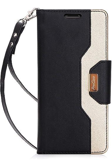 5d215188102ea7 Amazon.com: ProCase iPhone 8 Plus / 7 Plus Wallet Case, Flip Fold ...
