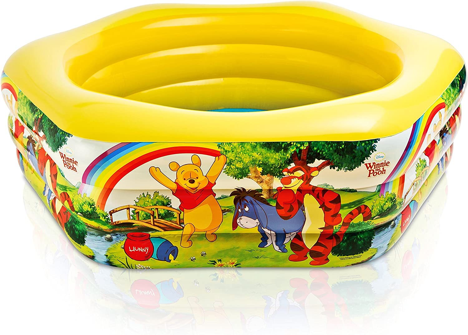 Intex - Piscina, 191 x 178 x 61 cm, 541 l, diseño tigger and pooh ...