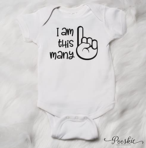 06ac2ea9 I am this many bodysuit, one finger, First Birthday Bodysuit, 1st Birthday  Shirt, Birthday Outfit for Boy, Boy First Birthday Outfit, Birthday Shirt,  1st ...