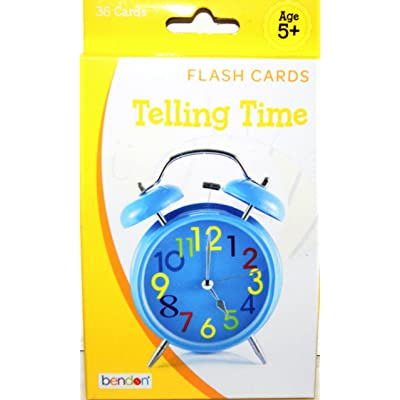 Bendon Flash Cards - Telling Time: Toys & Games