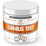 GENIUS TEST - The Smart Testosterone Booster For Men | Natural Energy Supplement, Brain & Libido Support, Fat Loss | Muscle Builder with KSM-66 Ashwagandha, Shilajit and Tongkat Ali, 30 Veggie Pills