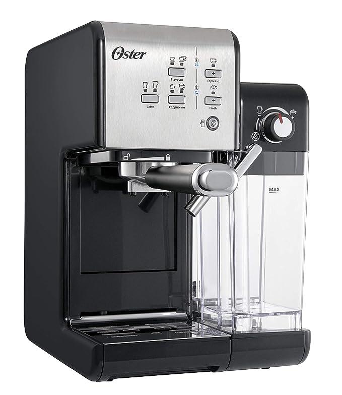OSTER Cafetera espreso Prima Latte II, 19 Bares, con Tratamiento de Leche, Plata, 0: Amazon.es: Hogar