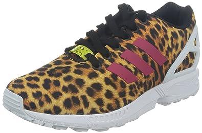 zx flux adidas leopard