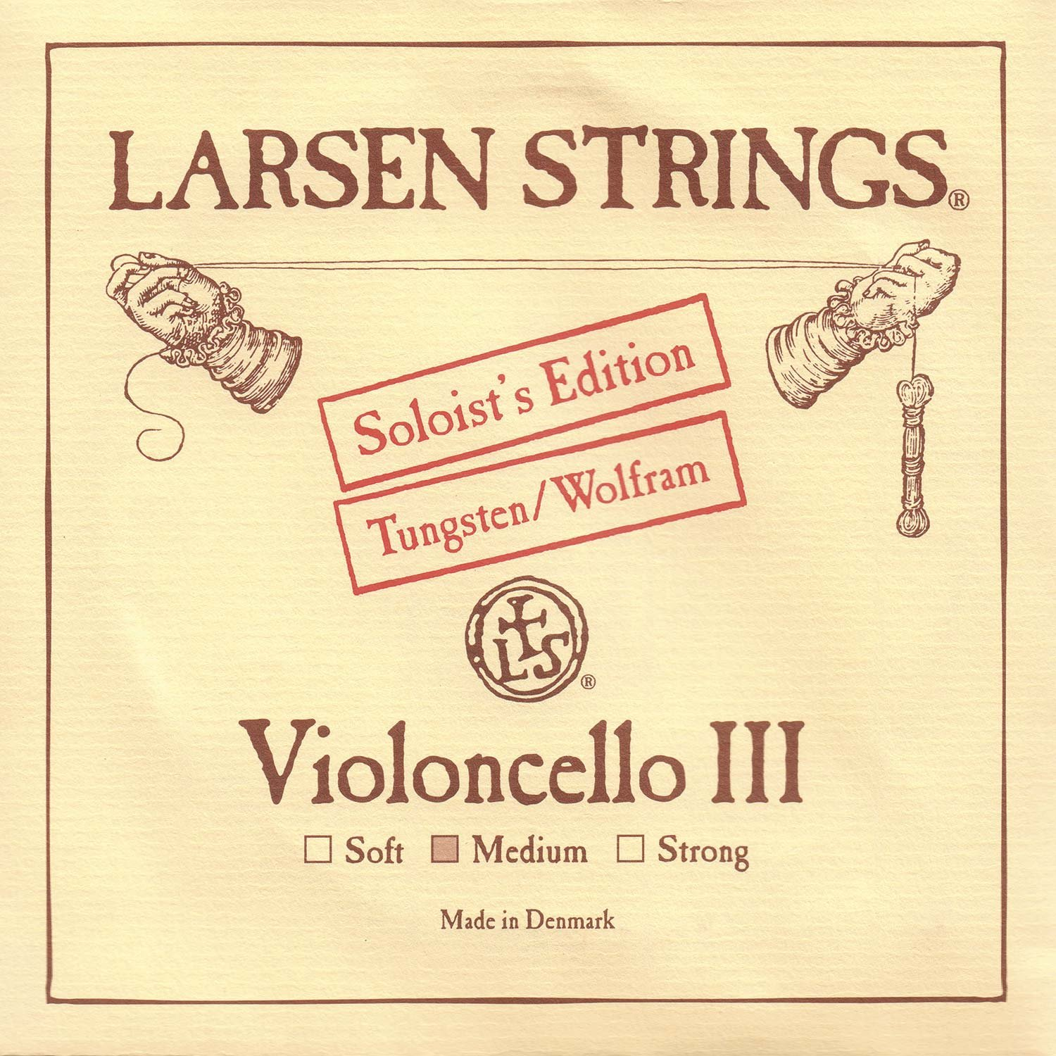 Larsen Soloist 4//4 Cello G String Medium Tungsten-Steel