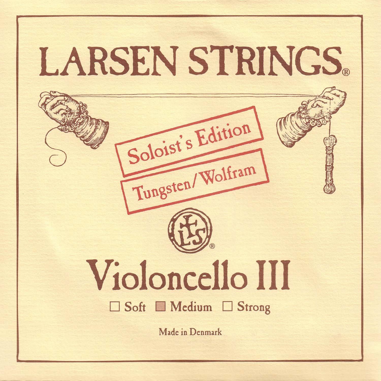 Larsen Soloist 4/4 Cello G String Medium Tungsten-Steel