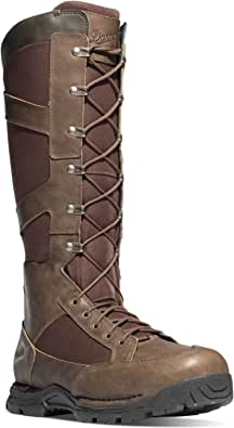 """Danner Snake Boot Side-Zip 17"""" (45033) Brown Hunting Boots   GORE-TEX (GTX) Waterproof Hiking Leather Boots   Footbed OrthoLite Hunter Modern Battlefield Combat Boot"""