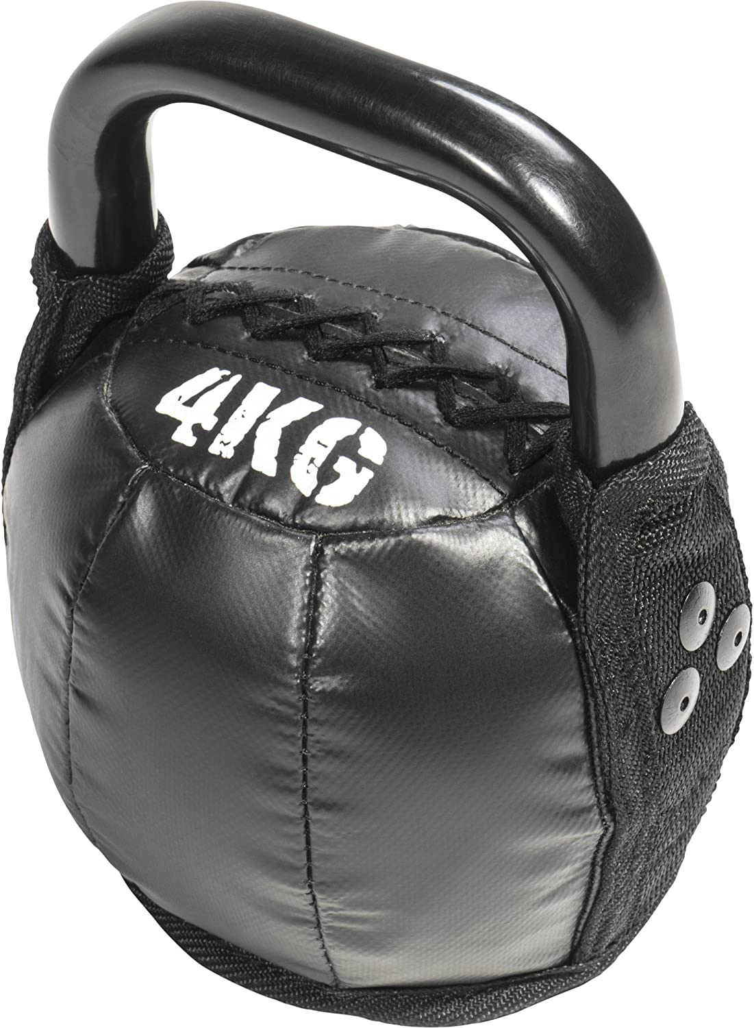 Gorilla Sports Hand Weight Kettlebell Swing Leather Dumbbell Weights 10/kg with Weight specification