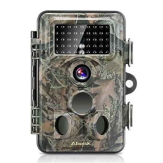 16 opinioni per Fotocamera caccia, ABASK Trail di sorveglianza impermeabile Scouting Fotocamera