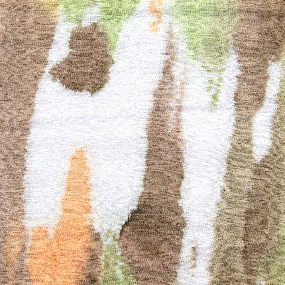 Klassischer Damen-Schal Geschenkidee Frauen Stola MANUMAR Schal f/ür Damen Hals-Tuch in verschiedenen Farben mit Farbverlauf Motiv als perfektes Fr/ühling Sommer Accessoire Mode-Schal