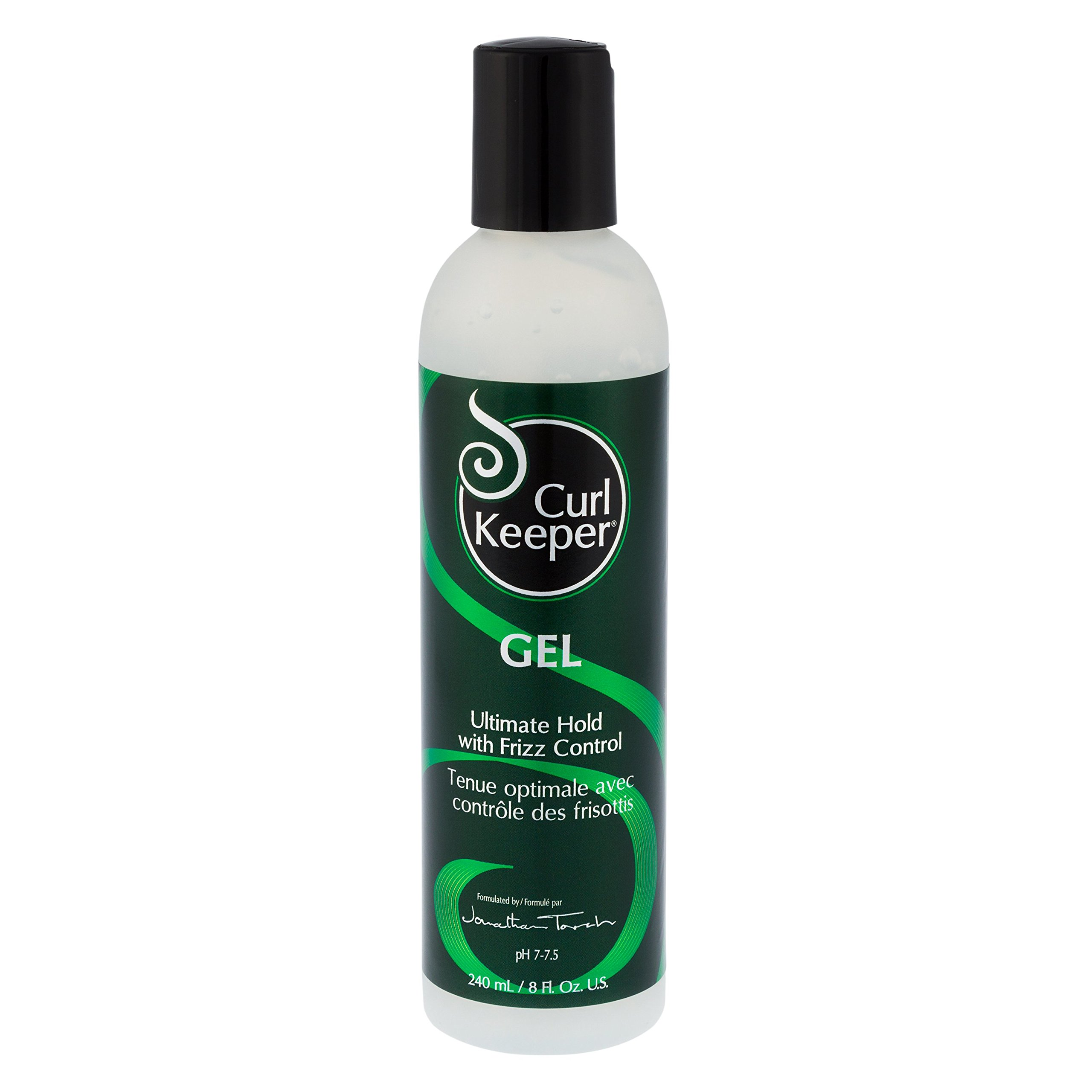 Curly Hair Solutions - Curl Keeper GEL Ultimate Hold with Frizz Control (8 Ounce / 240 Milliliter)