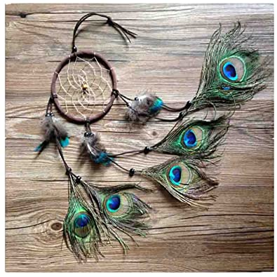 Dream Catcher Without Feathers Amazon Dremisland Handmade Indian Peacock Dreamcatcher Wind 39