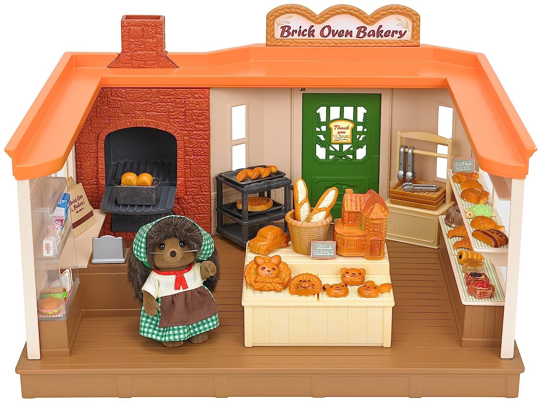 Sylvanian Families Brick Oven Bakery Set Multicolor Sylvanian