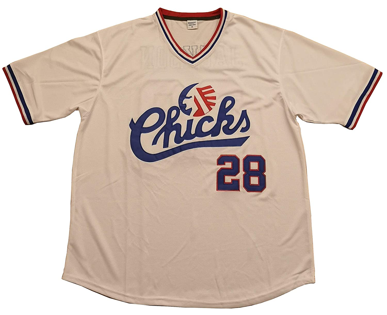 Kooy Bo Jackson #28 Memphish Chicks Baseball Jersey Men Stitched