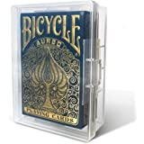 20 BitBins Playing Card Cases - Trading or Baseball Card Storage Box - Clear Plastic Carrying Cases for Specialty & Game Card
