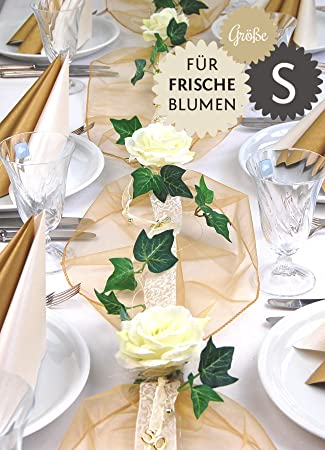 Fibula Style Komplettset Elegance Fur Frischblumen Grosse S