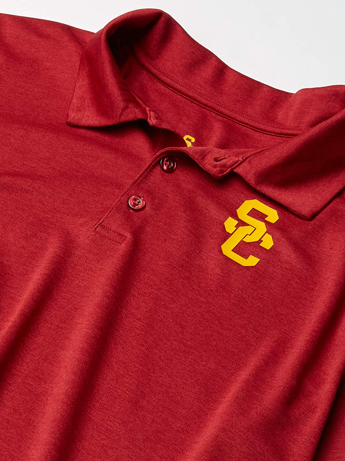 University of Southern California Authentic Apparel NCAA Mens University of Southern California Pine Polo