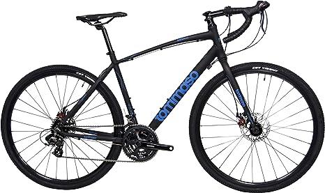 Tommaso Siena – Bicicleta de Aventura Shimano Tourney Gravel con ...