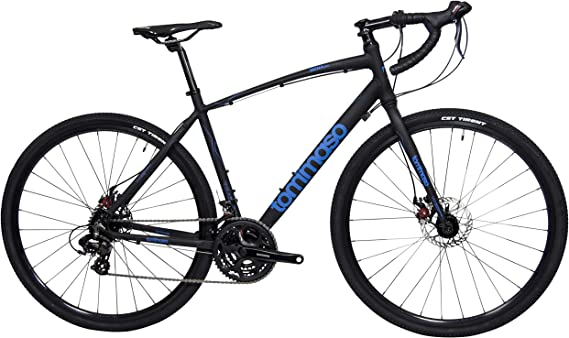 Tommaso Siena Shimano Tourney Gravel Adventure Bike with Disc Brakes