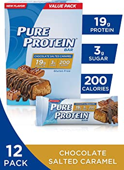 12-Pack Pure Protein Bars in Chocolate Salted Caramel
