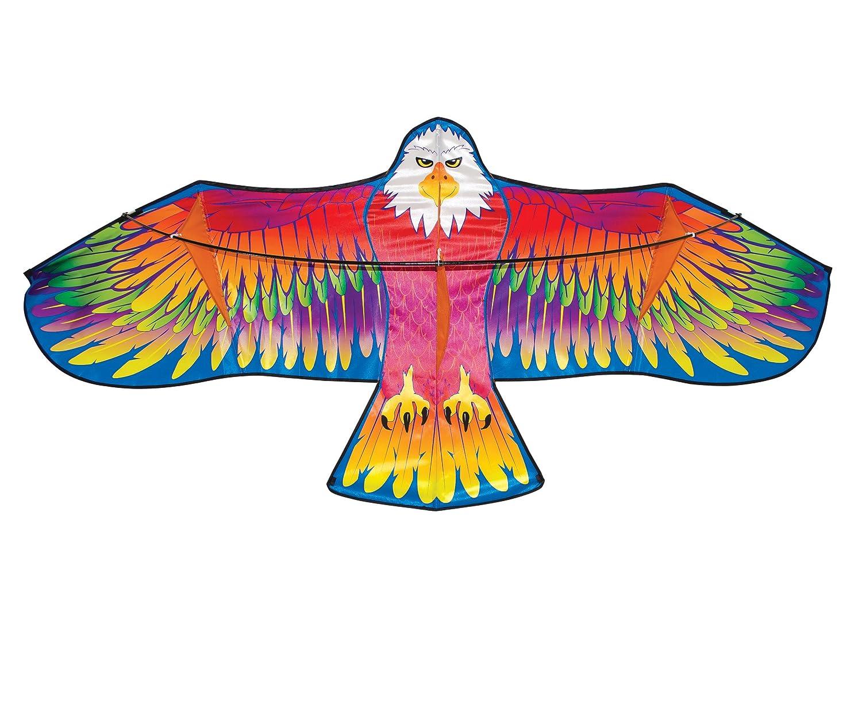 In the Breeze – Single Line Kite – サテンポリエステルファブリックwith Fiberglass – Kite Lineとバッグ付属 3234 B01N5HMU6P Spectrum Eagle