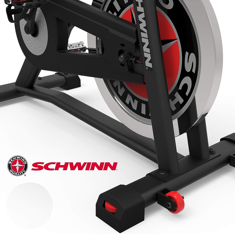 drahtlose Herzfrequenzmessung 18 kg PWD Schwungrad Tablethalterung Schwinn Speedbike IC7 Fitnessbike mit LCD-Display max stabile Rahmenkonstruktion Benutzergewicht 136 kg