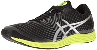 best sneakers 194fc 1fb44 ASICS Men s Gel-Hyper Tri 3 Running Shoe, Black Silver Safety Yellow