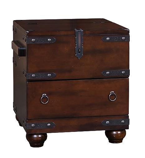 Amazon.com: SUNNY Designs Santa Fe tronco mesa auxiliar ...