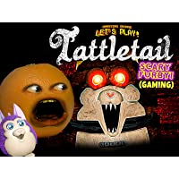 Clip: Annoying Orange Let's Play - Tattletail (Scary Furby Gaming)