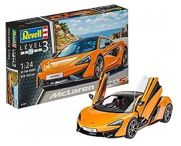 Revell- MC Laren Maqueta McLaren 570S, Kit Modelo, Escala 1 ...