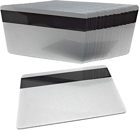500 PVC PLASTIC BLANK CARD LOCO MAGNETIC STRIPE ID CARD CR80 30 MIL