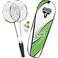 Talbot Torro 2 Attacker Set de Badminton Mixte Adulte, Vert