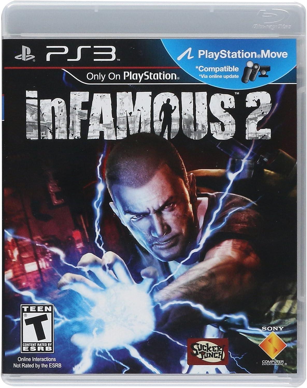 de65495c2c6a5 Amazon.com: Infamous 2 - Playstation 3: Sony Computer Entertainme ...