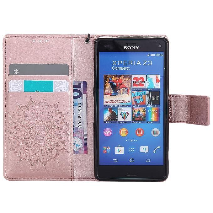 Amazon.com: Funda compacta para Sony Xperia Z3, carcasa ...