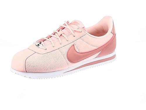 Nike Cortez Basic Txt Se (GS), Sneakers Basses Femme: Amazon