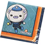 Amscan International Octonauts Lunch Napkin (Pack of 16)