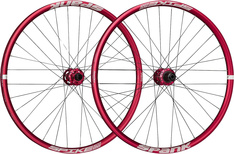 Spank Spike Race 28 Wheelset 26 150mm Bike Wheels Red