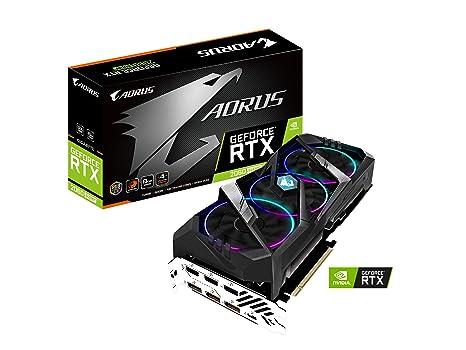 GIGABYTE AORUS GeForce RTX 2060 Super 8G Tarjeta gráfica, 3 ...